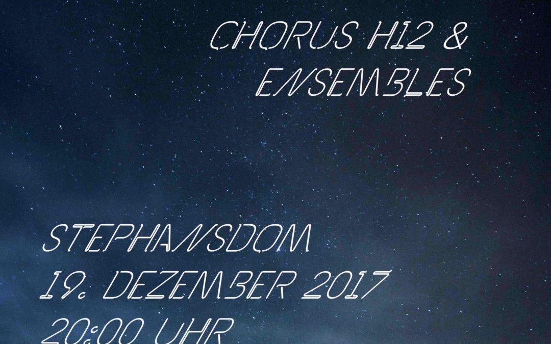 """Still o Himmel""  – Weihnachtskonzert Stephansdom 2017"