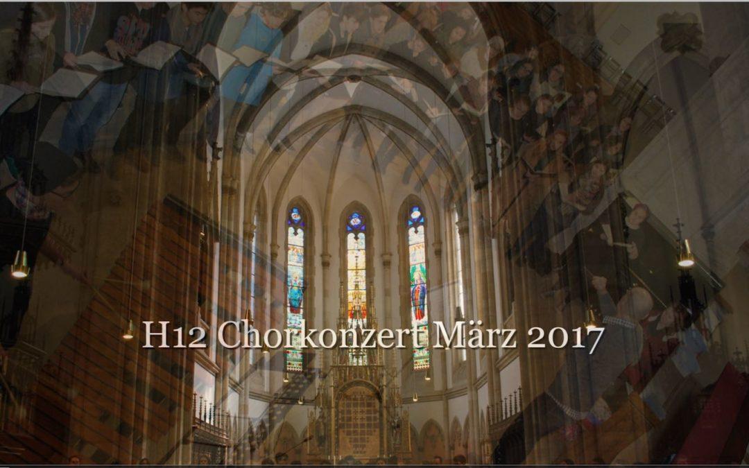 Chorus h12 im Stephansdom und zu St. Elisabeth, März 2017