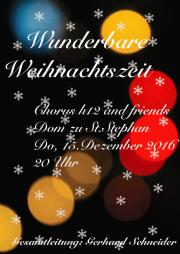 Weihnachtskonzert Stephansdom 2016