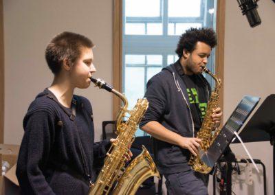 Saxophon_Quartett_Aufnahme_Hegelgasse_12_März_2018 - 2 von 5