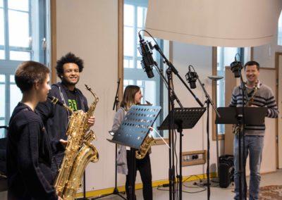 Saxophon_Quartett_Aufnahme_Hegelgasse_12_März_2018 - 3 von 5
