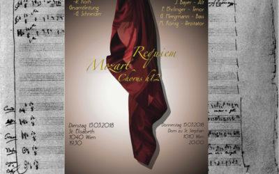 """""""Requiem"""" von W.A. Mozart, März 2018"""