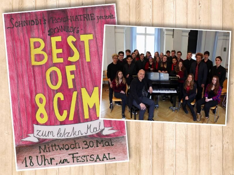 COMING SOON: Best of 8C – 4 Jahre Musik intensiv, Mai 2018