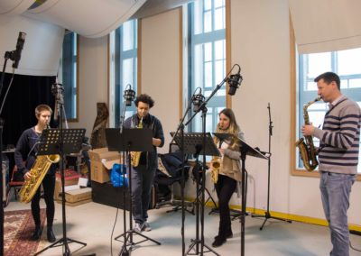 Saxophon_Quartett_Aufnahme_Hegelgasse_12_März_2018 - 1 von 5