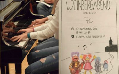 Weinberg-Abend 7C, November 2018