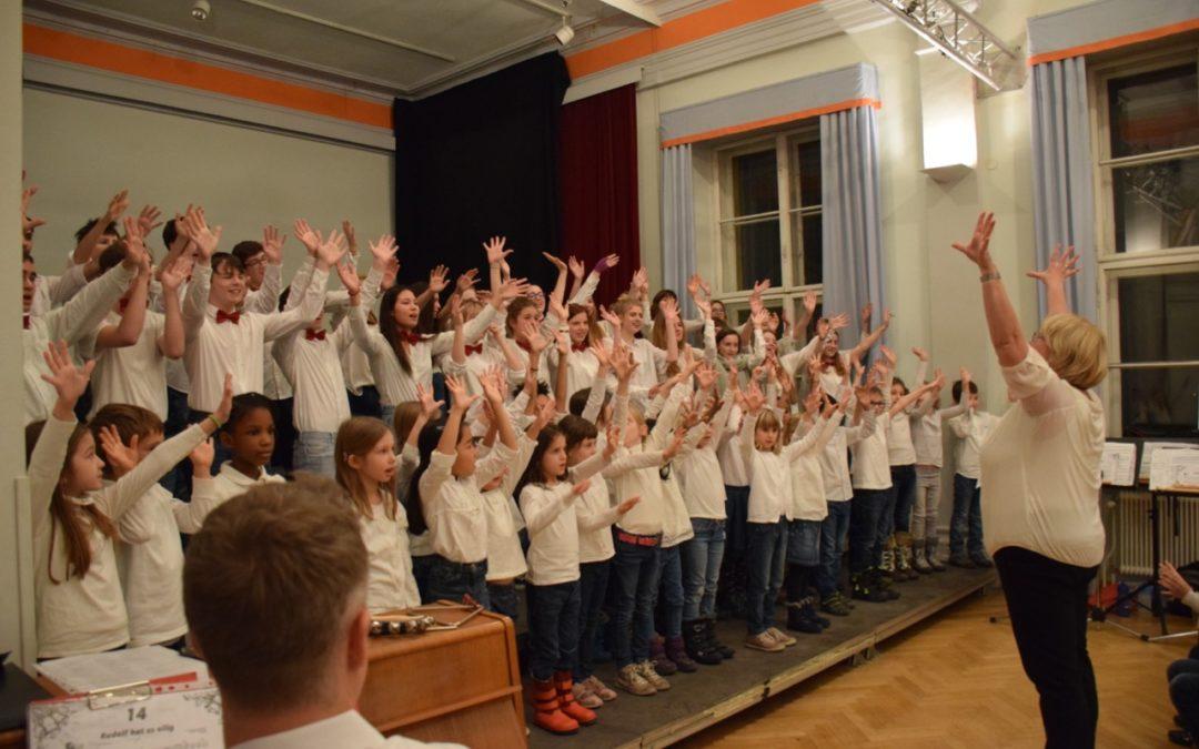 Singschule Meets H12 – Weihnachtliche Konzertstunde, Dezember 2018