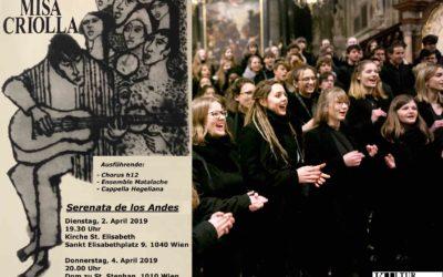 chorus h12 goes Südamerika, April 2019