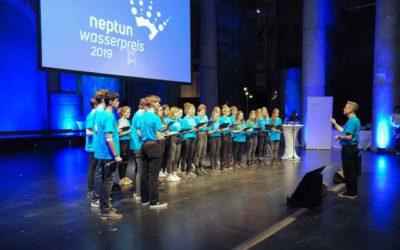 7C umrahmt Neptun-Wasserpreis-Siegerehrung, Odeon Wien, März 2019