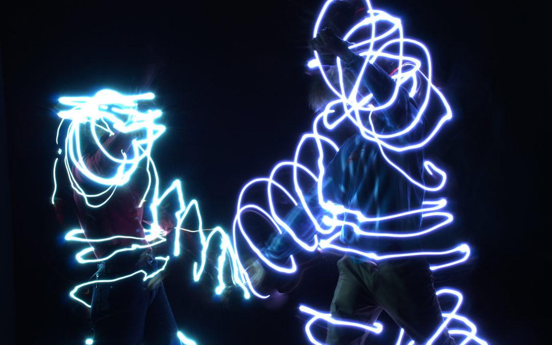 Arbeiten aus dem BE-Unterricht: lightpainting